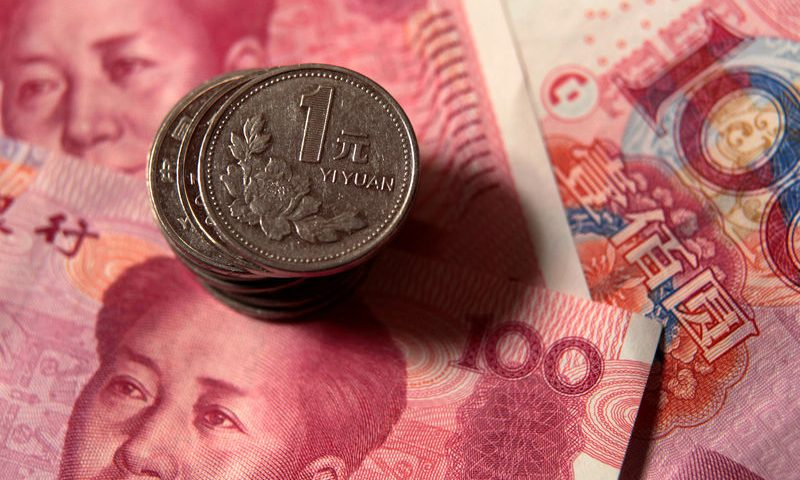Forex - Yuan Hit Hard as Trading Reopens
