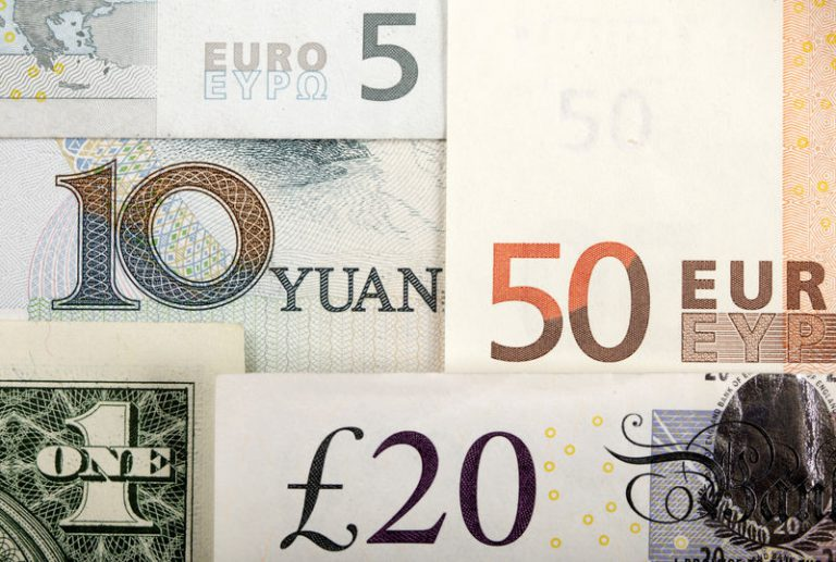 Sterling sparkles after election poll, Yuan up on trade deal reports