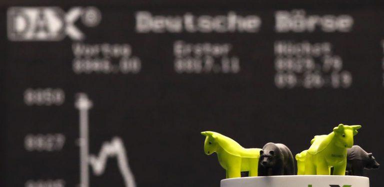 European shares slump to 2012 lows